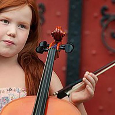 cellofestival meisje